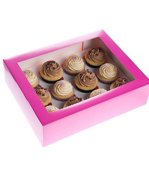 Cupcake Box - pink