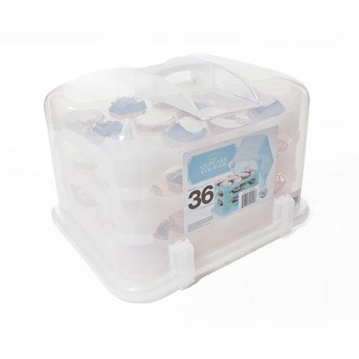 Cupcake Transportbox - weiss