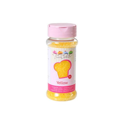 FunCakes Bunter Zucker gelb