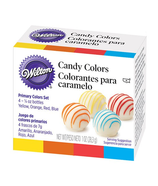 Wilton Schokoladen Farben