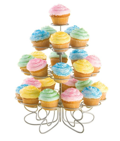 Cupcake Ständer - 24 Mini Cupcakes