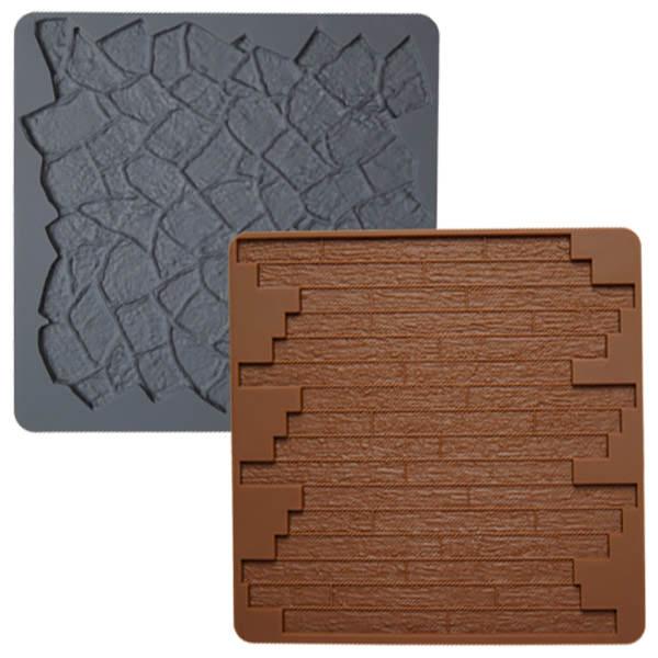 silikonform holz und stein makeurcake. Black Bedroom Furniture Sets. Home Design Ideas