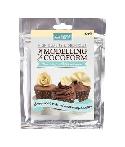 Modellierschokolade - weiss
