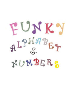 Ausstecher Set - Alphabet & Zahlen (Funky)