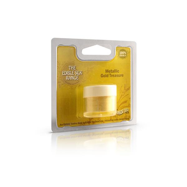 Lebensmittelfarbe Pulver - metallic gold