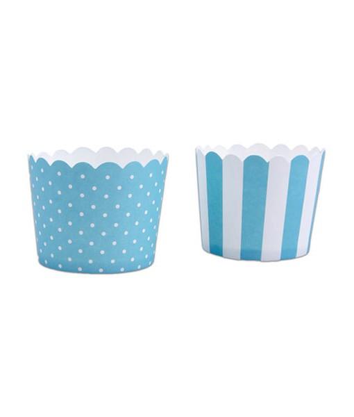 Cupcake Wrapper - blau