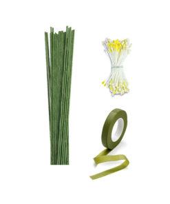 Blumen Set - grün