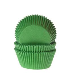 Papierbackförmchen - grün