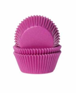 Papierbackförmchen - pink (dunkel)