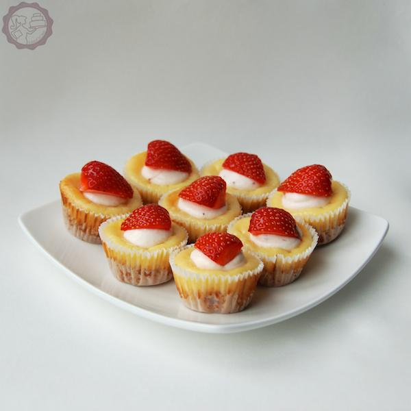 MakeUrCake - Mini Zitronencheesecake