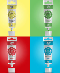 Lebensmittelfarbe Set - Grundfarben