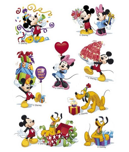 Zucker Aufkleber Mickey Mouse