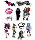Zucker Aufkleber Monster High