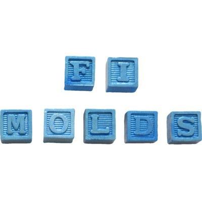 Silikonform - Alphabetwürfel