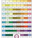 Merckens Color Chart
