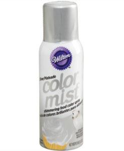 Wilton Color Mist Spray Silber