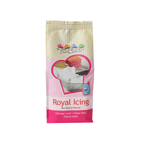 Royal Icing - Eiweiss Spritzglasur