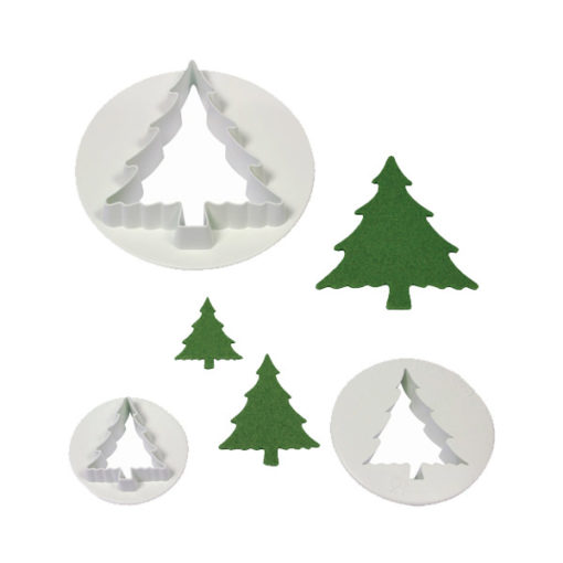 Ausstecher Set - Weihnachtsbäume