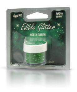 Lebensmittelfarbe Pulver - Glitzer, grün