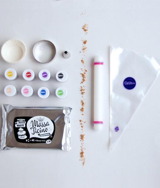 MakeUrCake Cupcakes Set Basic