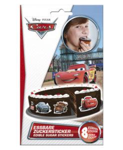 Zucker Aufkleber Disney Cars