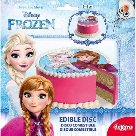 Tortenaufleger Frozen