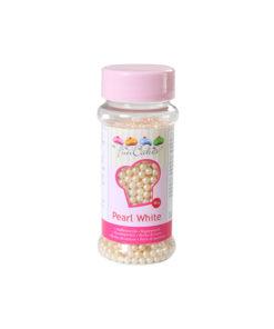 Zuckerperlen - perlweiss
