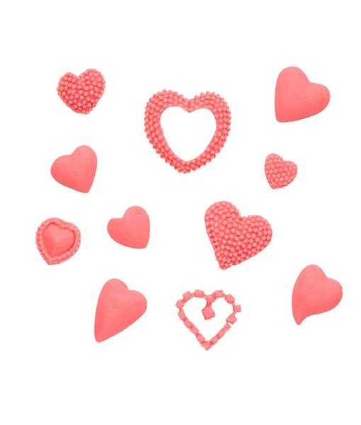 Silikonform - Herzen