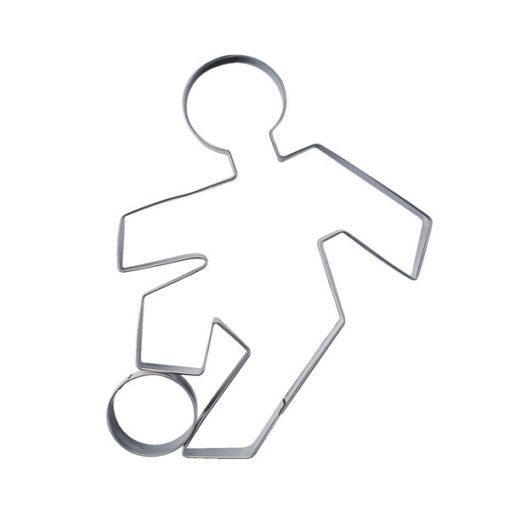 Ausstecher - Fussballspieler