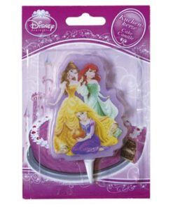 Kuchenkerze Disney Princess