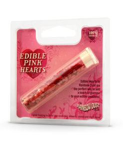 Streufiguren - Herzen, pink