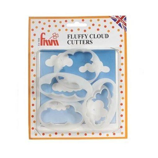 Ausstecher Set - Wolken