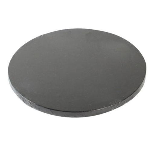 Tortenplatte - rund (30cm) schwarz