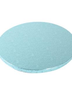 Tortenplatte - rund (30cm) blau