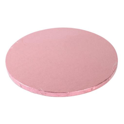 Tortenplatte - rund (30cm) rosa
