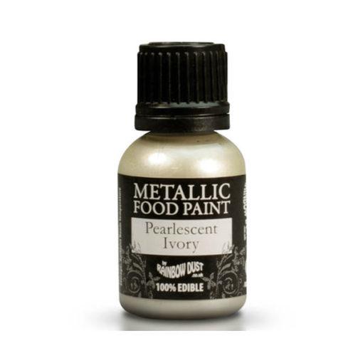 Lebensmittelfarbe - Metallic Elfenbein