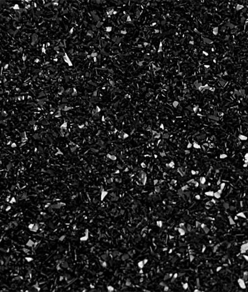 Lebensmittelfarbe Pulver - Glitzer, schwarz