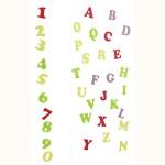 Ausstecher Set - Alphabet (Art Deco)