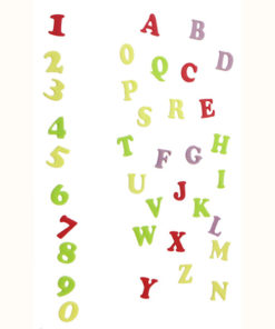 Ausstecher Set - Alphabet (Art Deco)