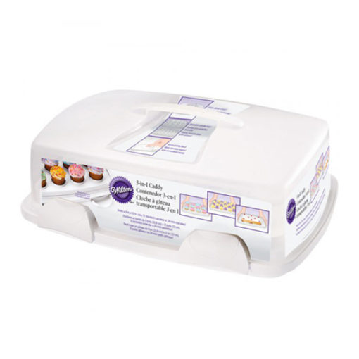 Wilton Cupcake Transportbox - 3 in 1