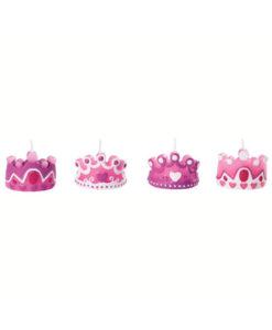 Kuchenkerze Prinzessin