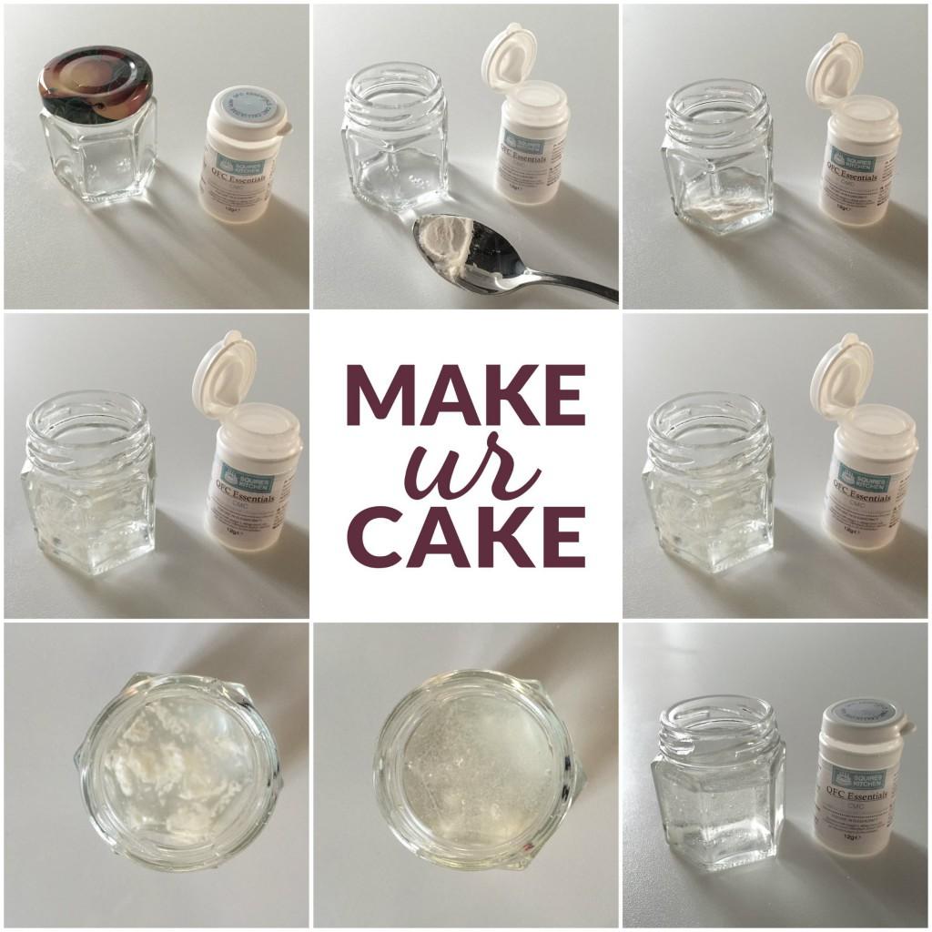 Essbarer Zuckerkleber (Edible Glue)