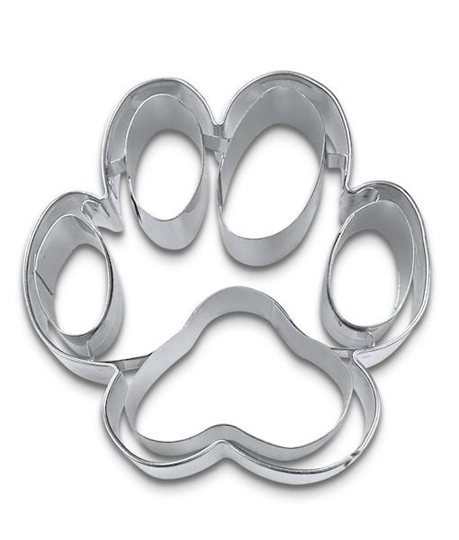 Ausstecher - Hundepfote