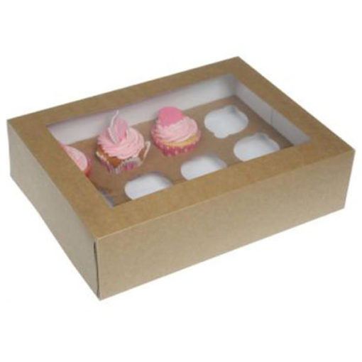 Cupcake Box - Kraftpapier