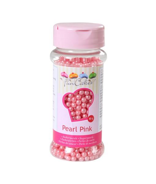 FunCakes Zuckerperlen - perlmutt pink