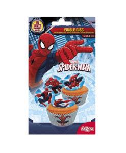 Muffinaufleger Spiderman