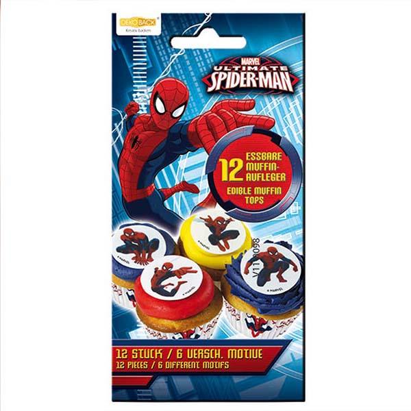 Muffinaufleger Spidermann