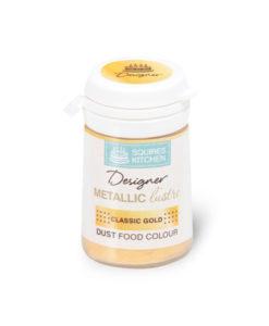 Lebensmittelfarbe Designer - Metallic Gold