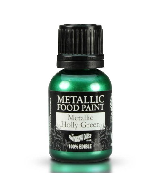 Lebensmittelfarbe - Metallic Grün