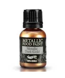 Lebensmittelfarbe - Metallic Dark Gold